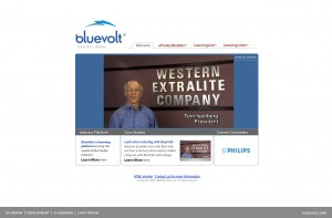 Bluevolt - user experience design
