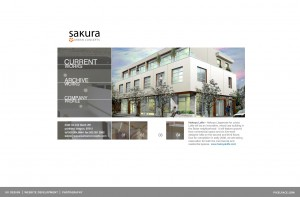 Sakura - mobile web design